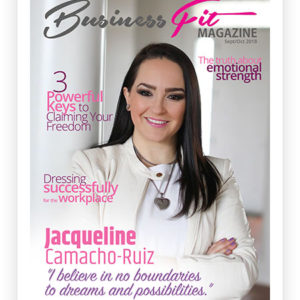 Busines Fit Magazine September 2018 Cover
