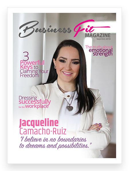Busines Fit Magazine September 2018 Cover